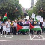 A recent Gaza demonstration in Letterkenny