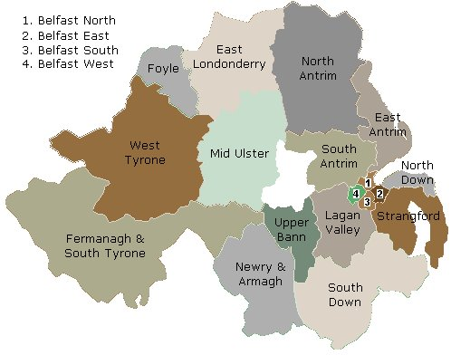 NI constituencies
