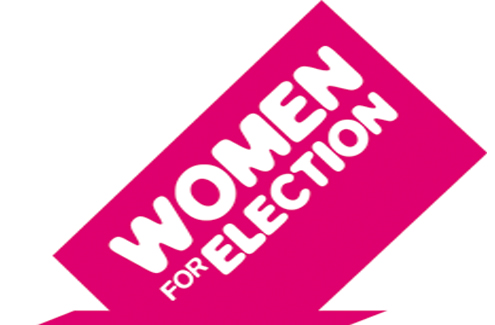 women for election logo