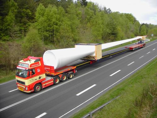 turbine transport