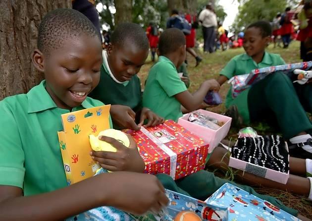 Shoebox Christmas Charity