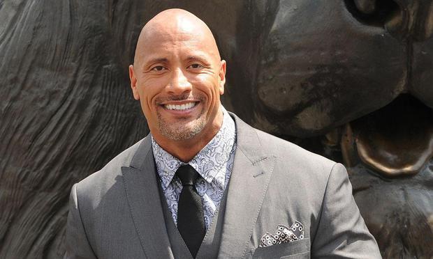 Actor Dwayne 'The Rock' Johnson for US President 2020