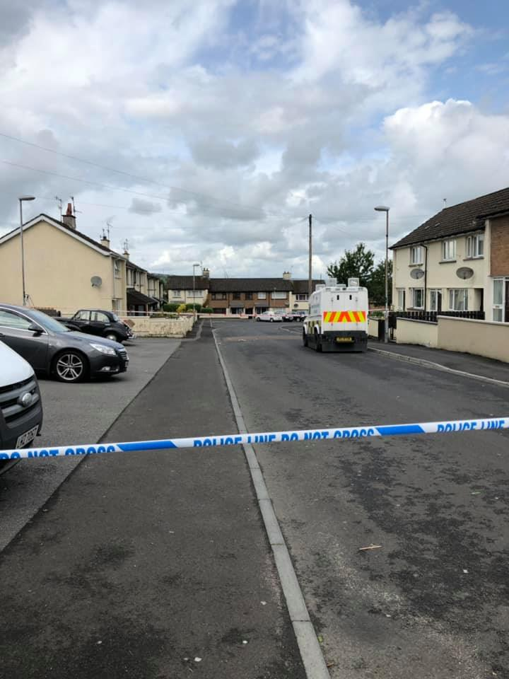 Security Alert, Strabane, Highland Radio, News, Letterkenny, Donegal