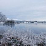 Gartan Lake, Donegal Christmas Day by Catherine Mc Glynn
