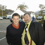 John Breslin and the late Brendan Maxwell