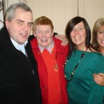 Aidan Murphy, Moya Rua, Mary Duffy and Ann Marie Mc Donaghy