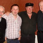 Fergus Cleary Johnny Haughey Hugh Mc Lean and Packie Keeney