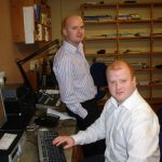 Greg Hughes and Gareth Wilkinson from the Newsroom