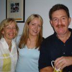 Hazel Russell, Michelle Logue and Paul Mc Devitt