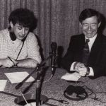 Donal Kavanagh with the late Minister Seamus Brennan