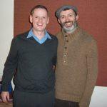 John Breslin with Comedian Tommy Tiernan