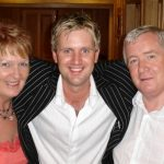 Marian Doherty, Mike Denver and Pius Mc Fadden at a Highland Concert