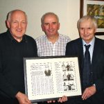 Packie Keeney, Charlie Collins and Michael Mc Gee