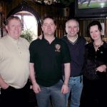 Pio Mc Cann Shaun Doherty Charlie Collins and Lisa Burkitt in New York