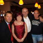 Shaun Doherty, Caroline Orr, Charlie Collins and Derek O Connor in Boston