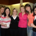 The Highland Ladies who helped out at the Young at Heart