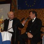 Charlie Collins interviewing Irelands Ryder Cup Hero  Paul Mc Ginley