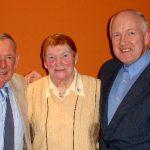 Packie Bradley, Moya Rua and Packie Keeney