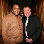 Pio Mc Cann with Country Legend Charlie Pride