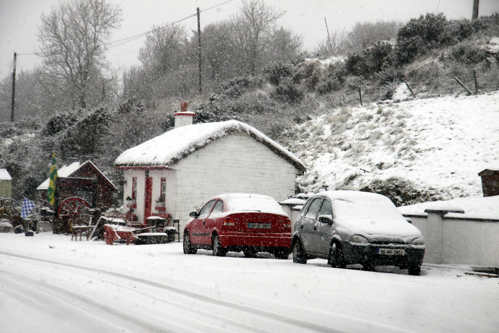 Weather warning for ice across Northern Ireland