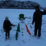 Creeslough snowman!