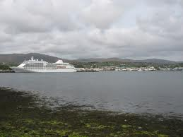 MS Silver Whisper docked in Killybegs in 2012