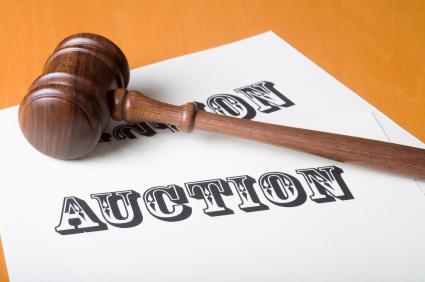 On line auction