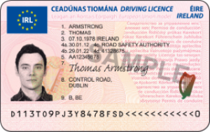 Irish Driving Licence