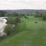 9th hole at Strabane Golf Course were children gathered for a drinking party