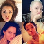 The no make-up selfie craze was started by celebrities on social media