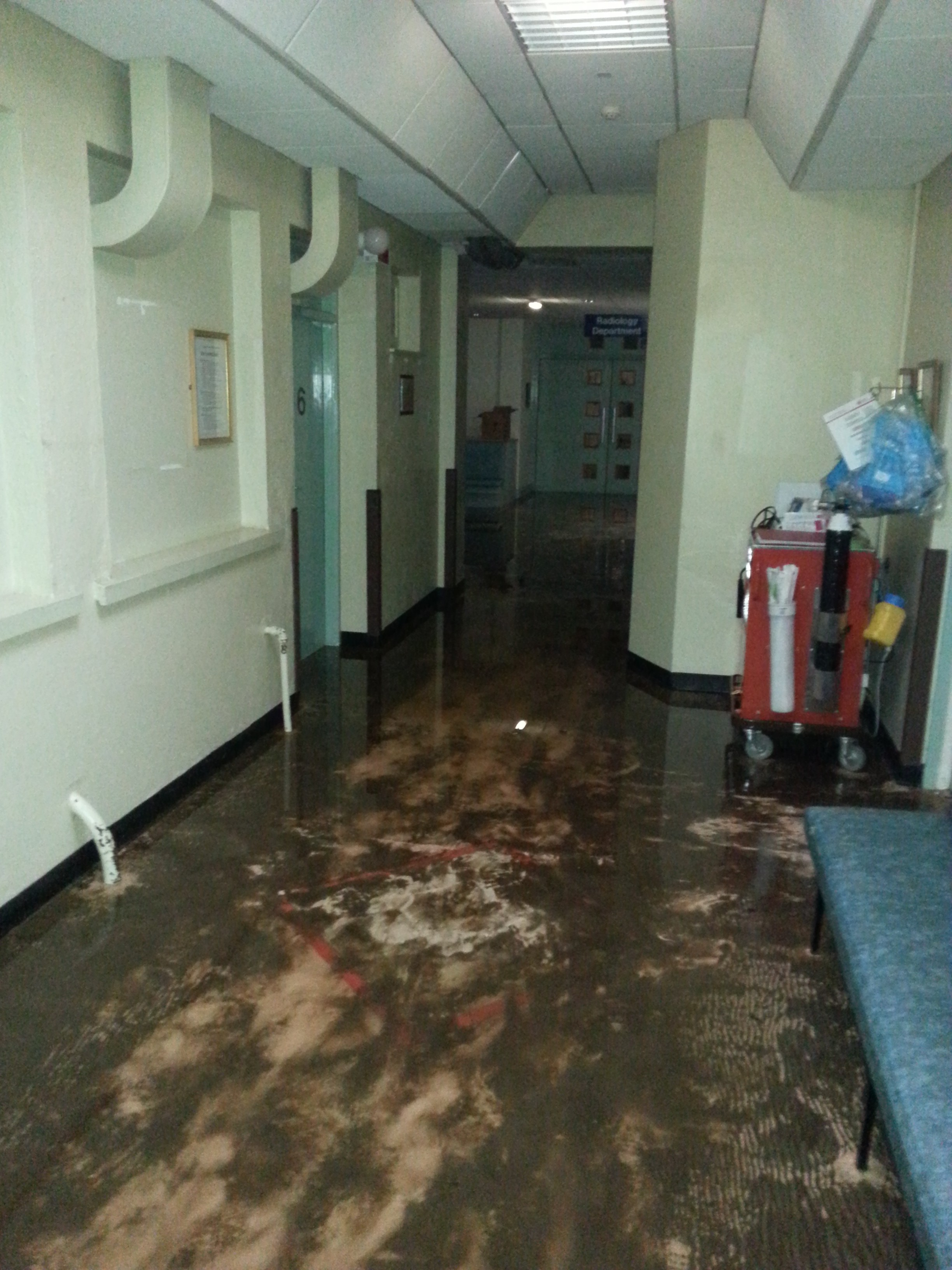 Letterkenny General Hospital Flood Disaster One Year