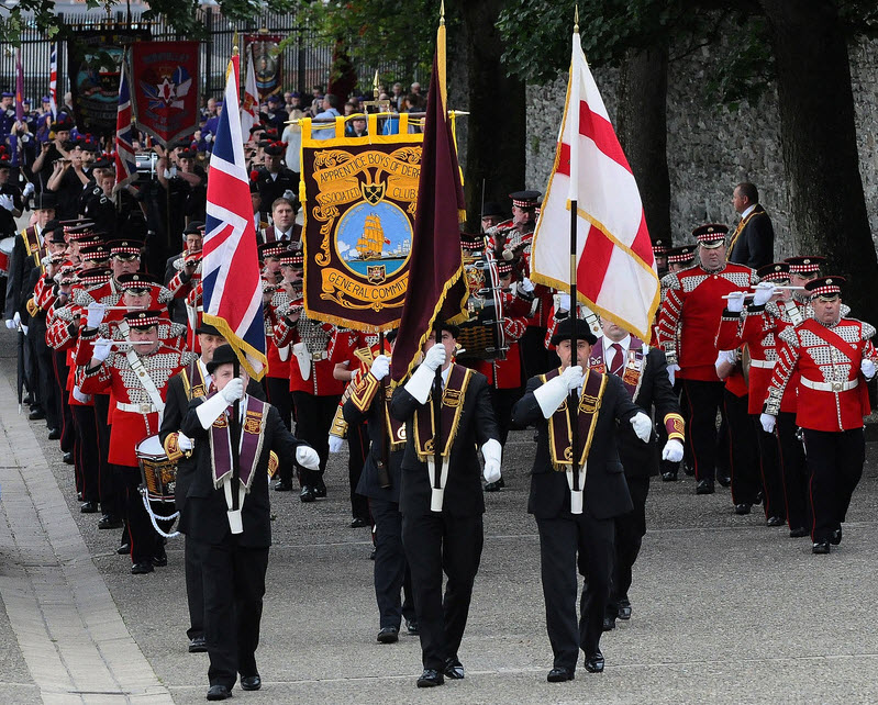 apprentice boys of derry parades details of routes and traffic diversions highland radio. Black Bedroom Furniture Sets. Home Design Ideas