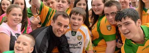 Donegal Supporters Karl Lacey 2012