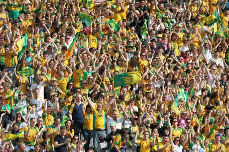 Donegal supporters