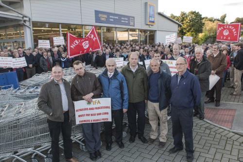 IFA protest