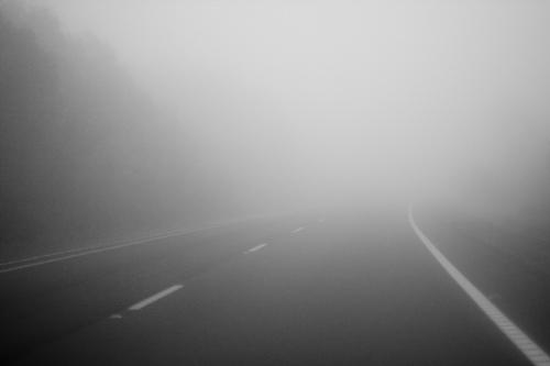 foggy-road