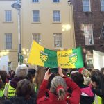 donegal childcare rally