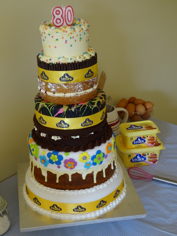 This Cake For Mary Berrys 80th Birthday Is A Showstopper Highland