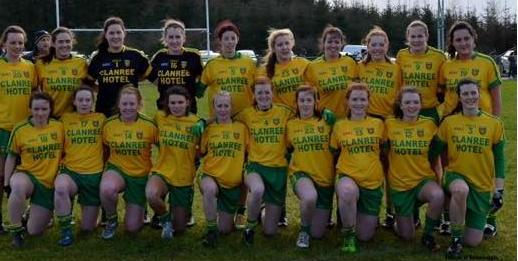 Senior Ladies Donegal Gaa