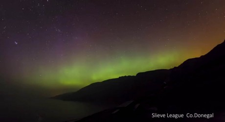 Northern Lights set to be visible over Ireland this weekend