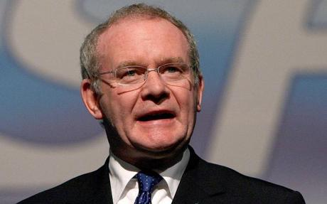 Thousands Of Mourners Gather For Martin McGuinness' Funeral