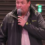 Karl Reid on his 1st mini stages event at Clerk of the Course for the Mini Stages Rally.