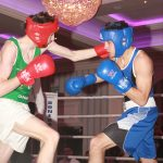 Matthew Cole from Dungloe takes on Boston's Micheal O'Hann