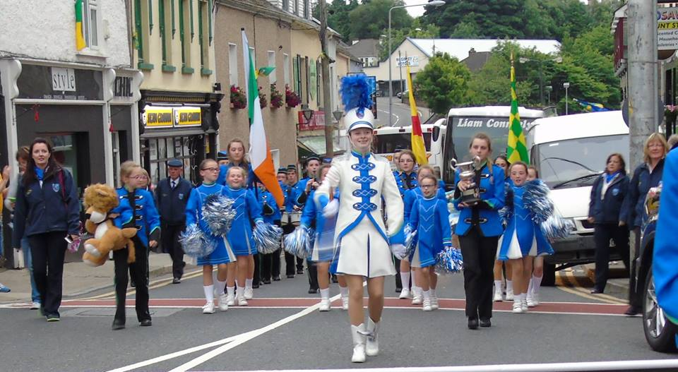 Donegal Town Community Band return to the Town as Ulster Champions 2016