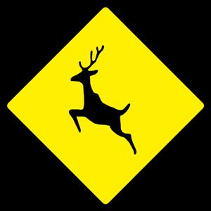 deer-warning