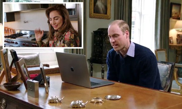 Lady Gaga And Prince William Collaborate On Message