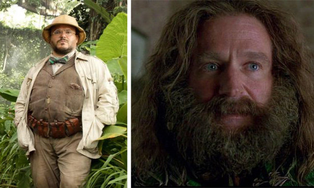 Stars of 'Jumanji' sequel pay tribute to Robin Williams