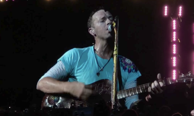 Coldplay performs new song 'Houston' in dedication to Hurricane Harvey victims