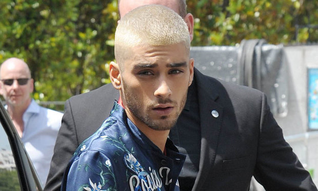 Zayn Malik's latest hairstyle? He's gone bald… | Highland ...