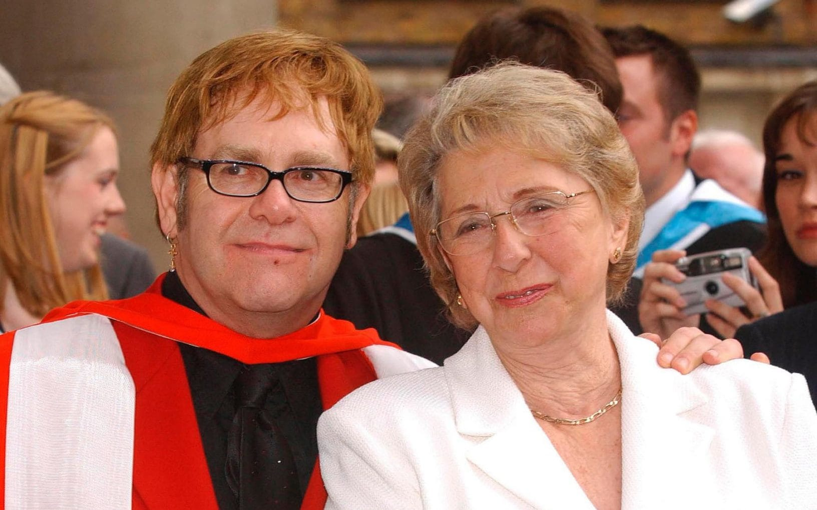 Elton John Has Received Little of His Mother's Estate